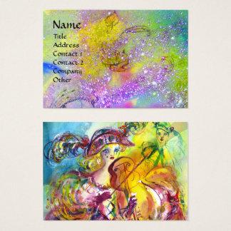 ARLECCHINA VIOLINIST,Violin,Music,Theater Artist, Business Card