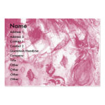ARLECCHINA VIOLINIST,Violin ,Music,Theater Artist, Large Business Card