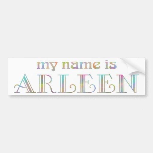 Arleen Bumper Sticker