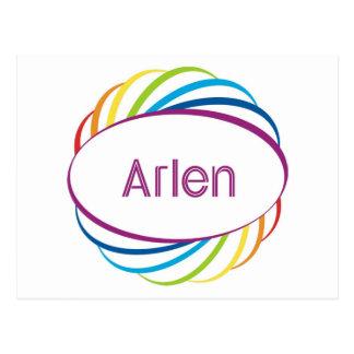 Arlen Post Card