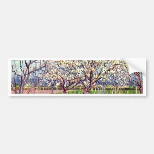Arles By Vincent Van Gogh Bumper Stickers