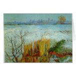 Arles by Vincent van Gogh Greeting Card