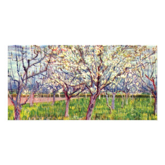 Arles By Vincent Van Gogh Personalized Photo Card