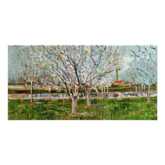 Arles By Vincent Van Gogh Customized Photo Card