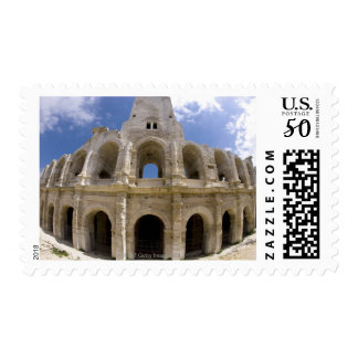 Arles, France, Exterior of the Arles antique 3 Postage