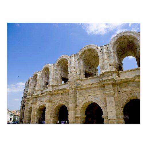 Arles, Francia, exterior de la antigüedad 2 de Arl Postal