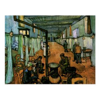 Arles Hospital Ward, Vincent van Gogh Postcard