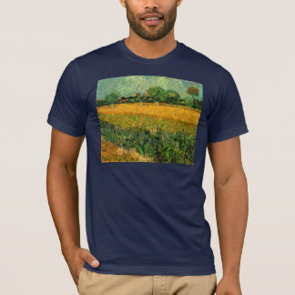 Arles with Irises in the Foreground by van Gogh T-Shirt