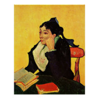 Arlesienne by Vincent van Gogh Posters