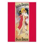 Arlette Dorgere, 1904 Art Nouveau Announcements