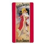 Arlette Dorgere, 1904 Art Nouveau Shipping Labels