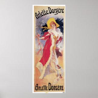 Arlette Dorgere Poster