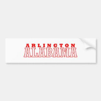 Arlington, Alabama City Design Bumper Sticker