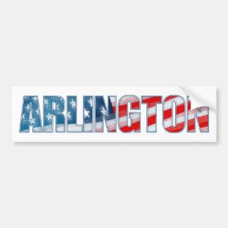 Arlington Bumper Sticker