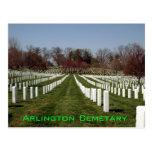 Arlington cemetary postcard