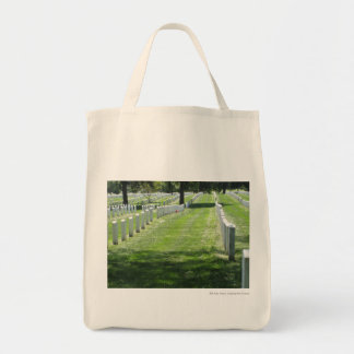Arlington Cemetery Grocery Tote Bag