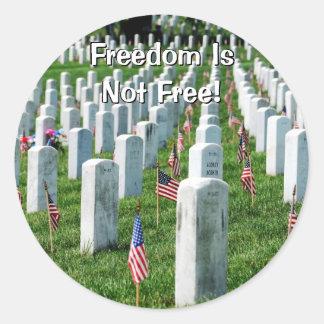Arlington Cemetery Classic Round Sticker