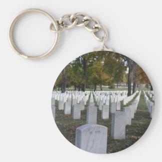 Arlington Cemetery Fall 2013 Headstones Key Chain