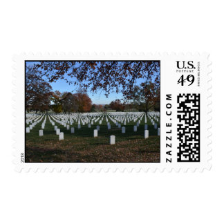 Arlington Cemetery Headstones in Lines Fall 2013 Stamps