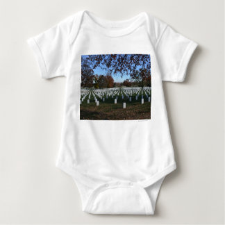 Arlington Cemetery Headstones in Lines Fall 2013 Shirts