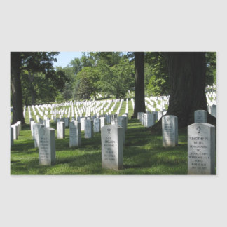 Arlington Cemetery Rectangular Sticker