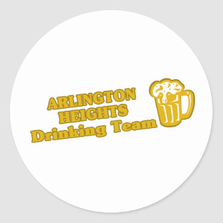 Arlington Heights Drinking Team tee shirts Stickers