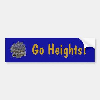 Arlington Heights Yellow Jackets - Fort Worth, TX Car Bumper Sticker