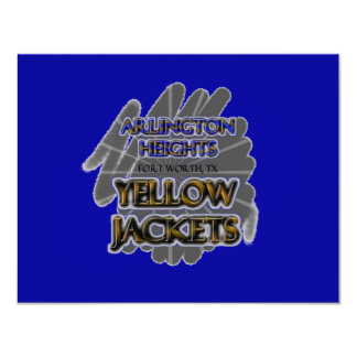 Arlington Heights Yellow Jackets - Fort Worth, TX Card