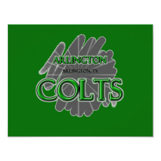 Arlington High School Colts - Arlington, TX Card