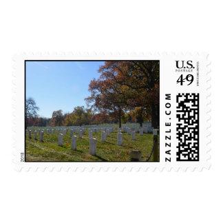 Arlington in Autumn Postage Stamp