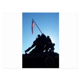 Arlington Iwo Jima Postcard