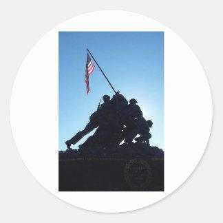 Arlington Iwo Jima Sticker