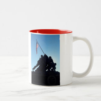 Arlington Iwo Jima Two-Tone Coffee Mug