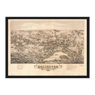 Arlington Massachusetts (1884) Canvas Print