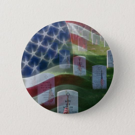 Arlington National Cemetery, American Flag Button