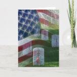 Arlington National Cemetery, American Flag Card