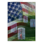 Arlington National Cemetery, American Flag Greeting Card