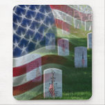 Arlington National Cemetery, American Flag Mouse Pad