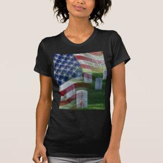 Arlington National Cemetery, American Flag T-Shirt