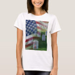 Arlington National Cemetery, American Flag T-Shirt