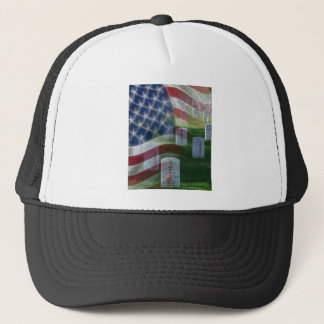 Arlington National Cemetery, American Flag Trucker Hat