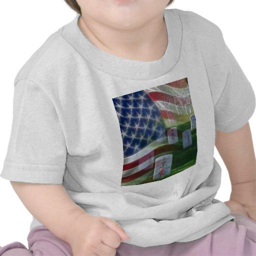 Arlington National Cemetery, American Flag Tshirts