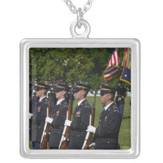 Arlington National Cemetery, Arlington, Silver Plated Necklace