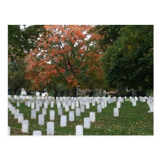 Arlington National Cemetery Postcard