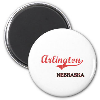 Arlington Nebraska City Classic 2 Inch Round Magnet