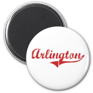 Arlington Nebraska Classic Design 2 Inch Round Magnet