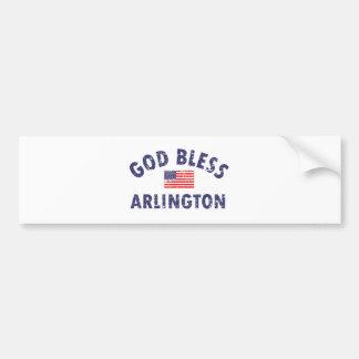 ARLINGTON.png Bumper Sticker