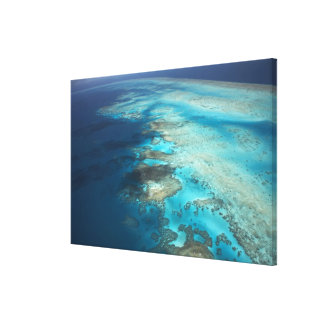 Arlington Reef, Great Barrier Reef Marine Park, Canvas Print