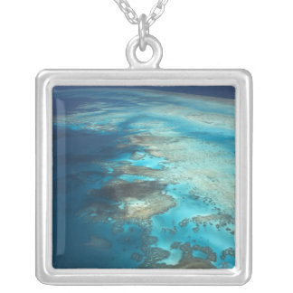 Arlington Reef, Great Barrier Reef Marine Park, Silver Plated Necklace