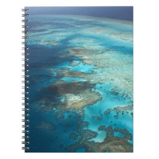 Arlington Reef, Great Barrier Reef Marine Park, Spiral Notebook